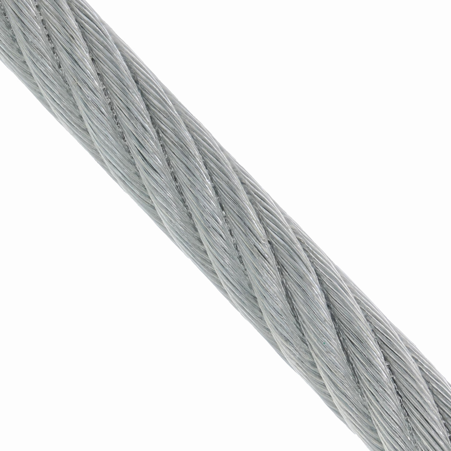 1 8 Inch 7 X 19 Vinyl Coated Galvanized Cable