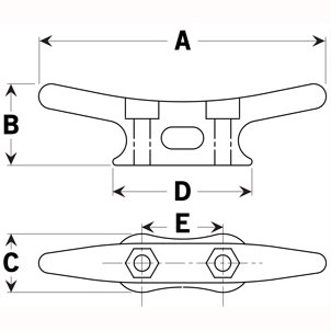 four-inch-galvanized-cleat-specification-diagram