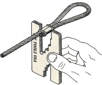 Cable Crimping Gauge Instructions