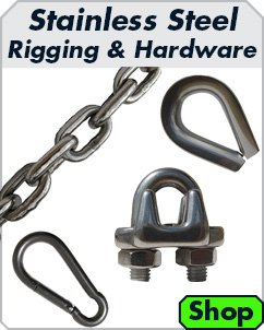 Stainless Steel Rigging and Hardware Products