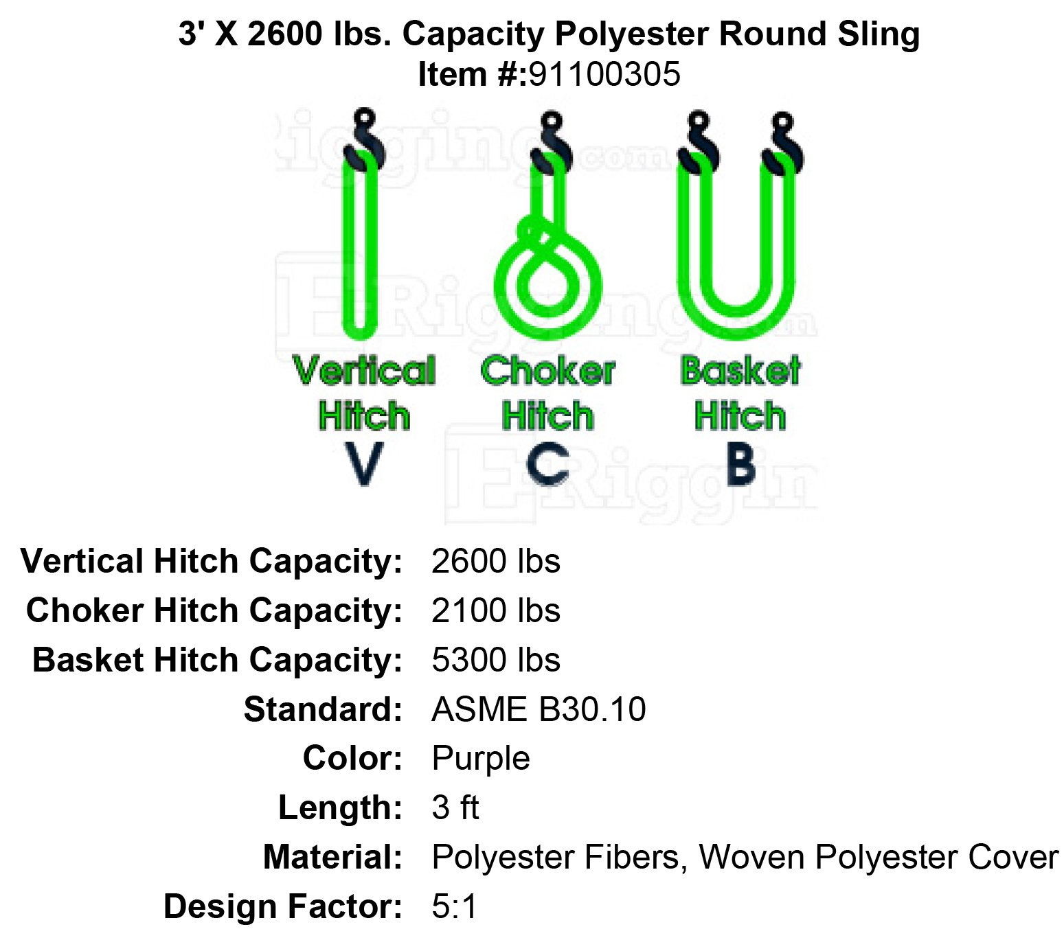 Luxury Crosby Wire Rope Sling Capacity Chart Photos - Electrical ...