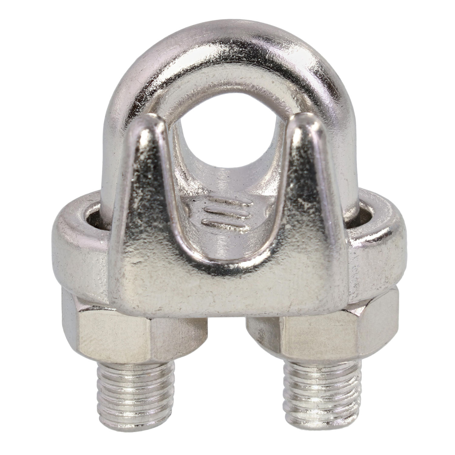 Metal Wire Clips : Quot grade stainless steel cast wire rope clip