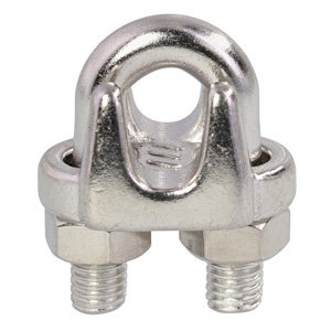 "1/4"" Stainless Steel Wire Rope Clip"