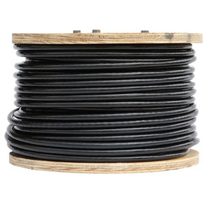 Gloss Opaque Black Vinyl Coated Cable