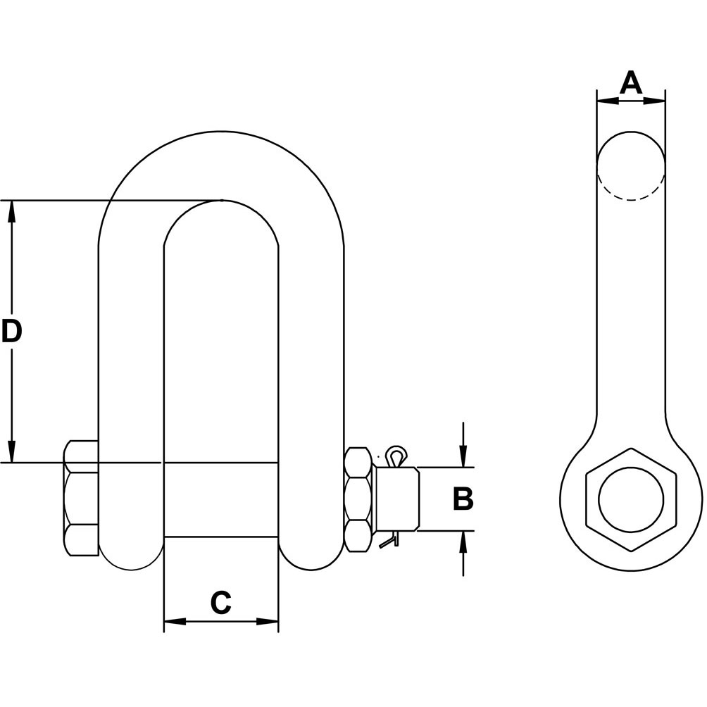 three-sixteenths-inch-stainless-safety-chain-shackle-specification-diagram