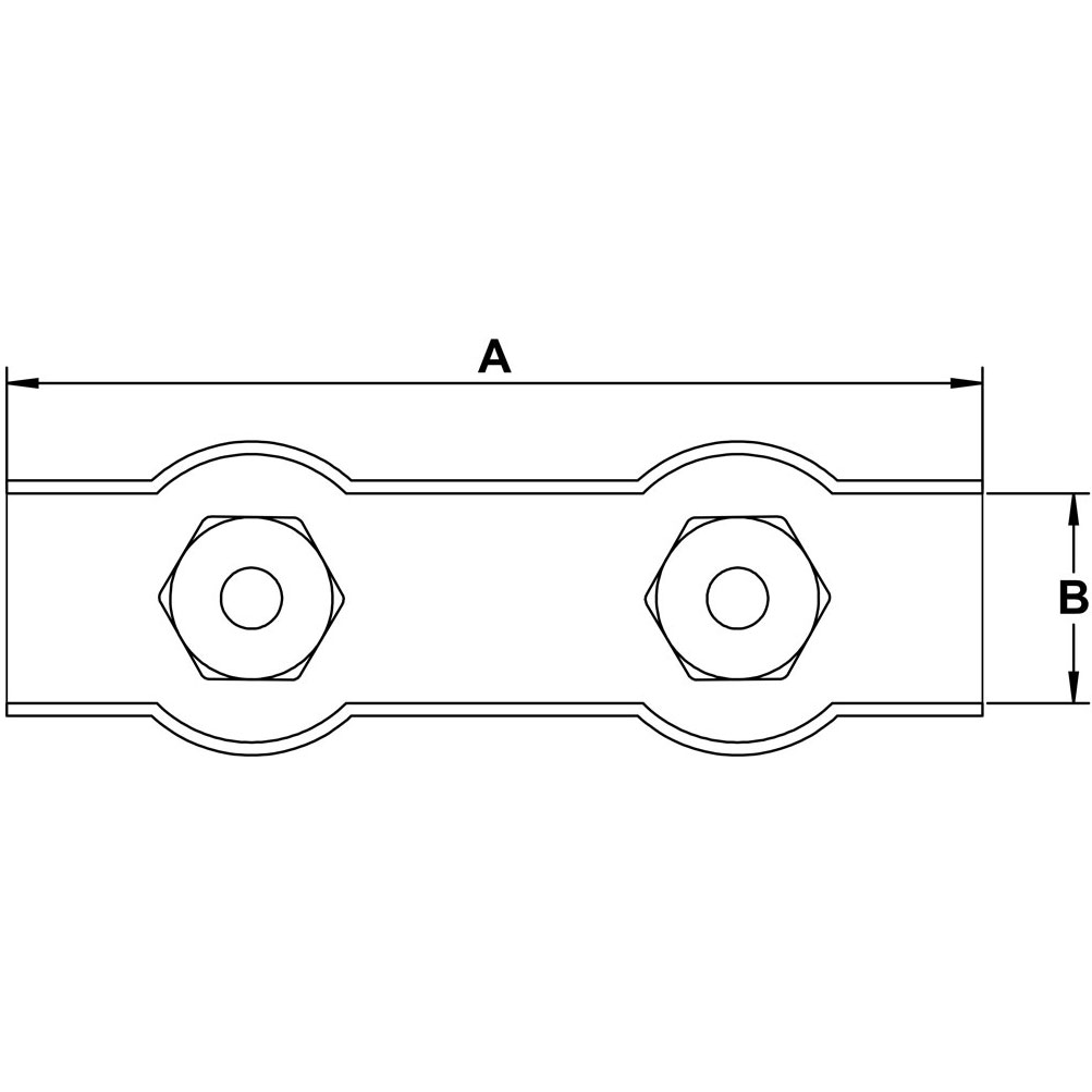 quarter-inch-stainless-stamped-double-cable-clamp-specification-diagram