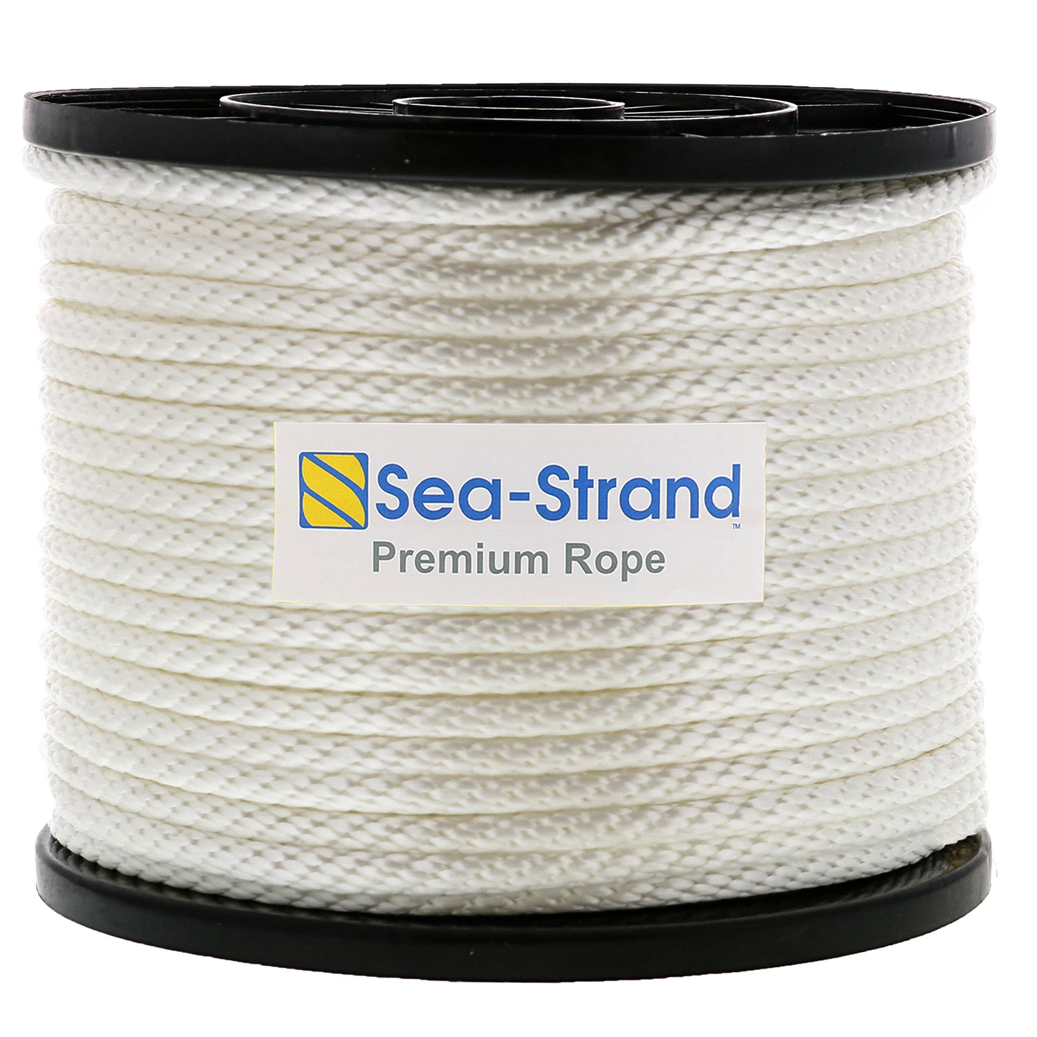 "1/2"" x 500' Reel, Solid Braid Nylon Rope Image 1"