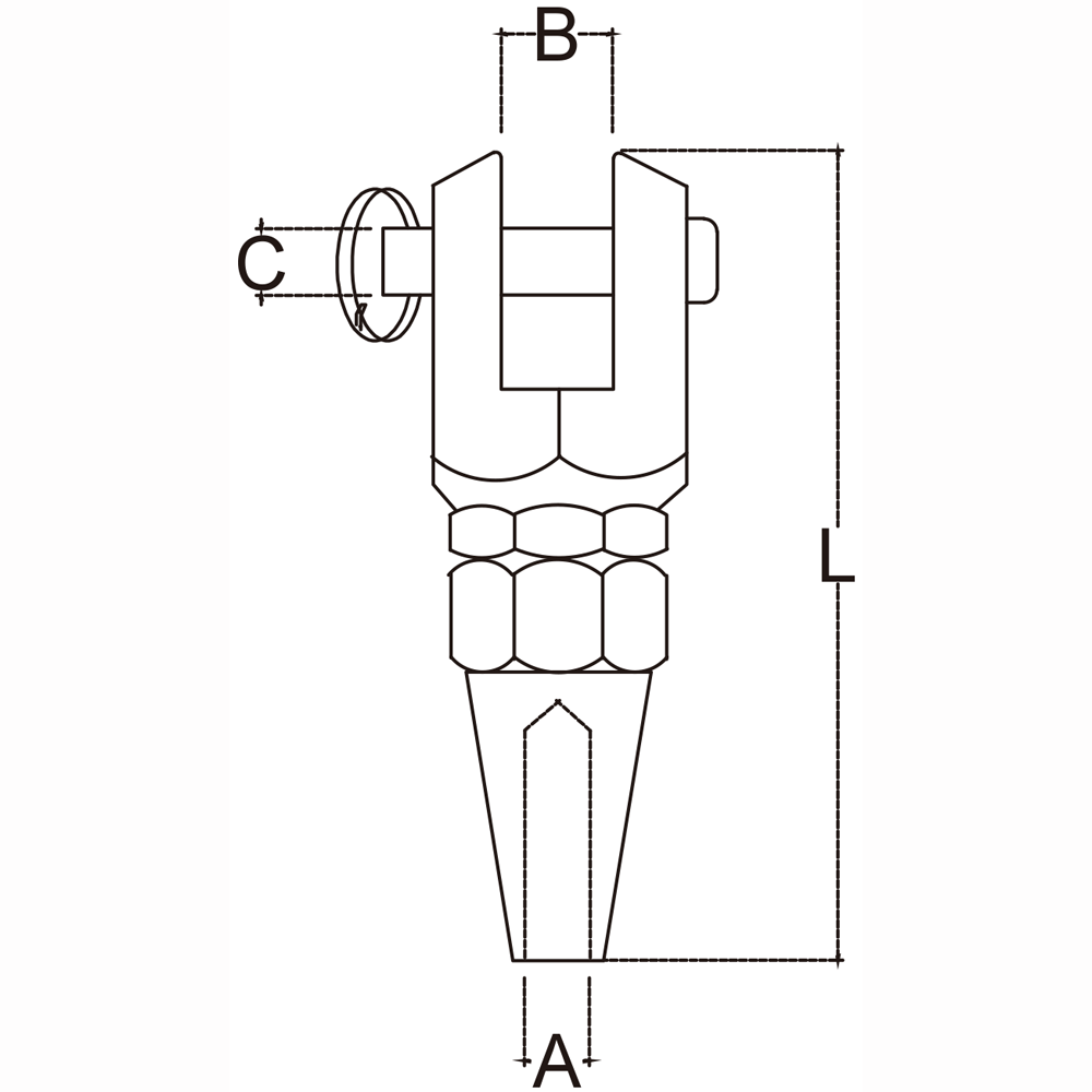 three-sixteenths-inch-stainless-steel-swageless-jaw-specification-diagram
