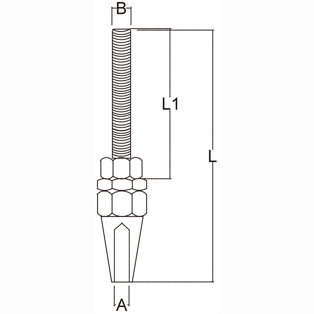 eighth-inch-stainless-steel-swageless-stud-specification-diagram
