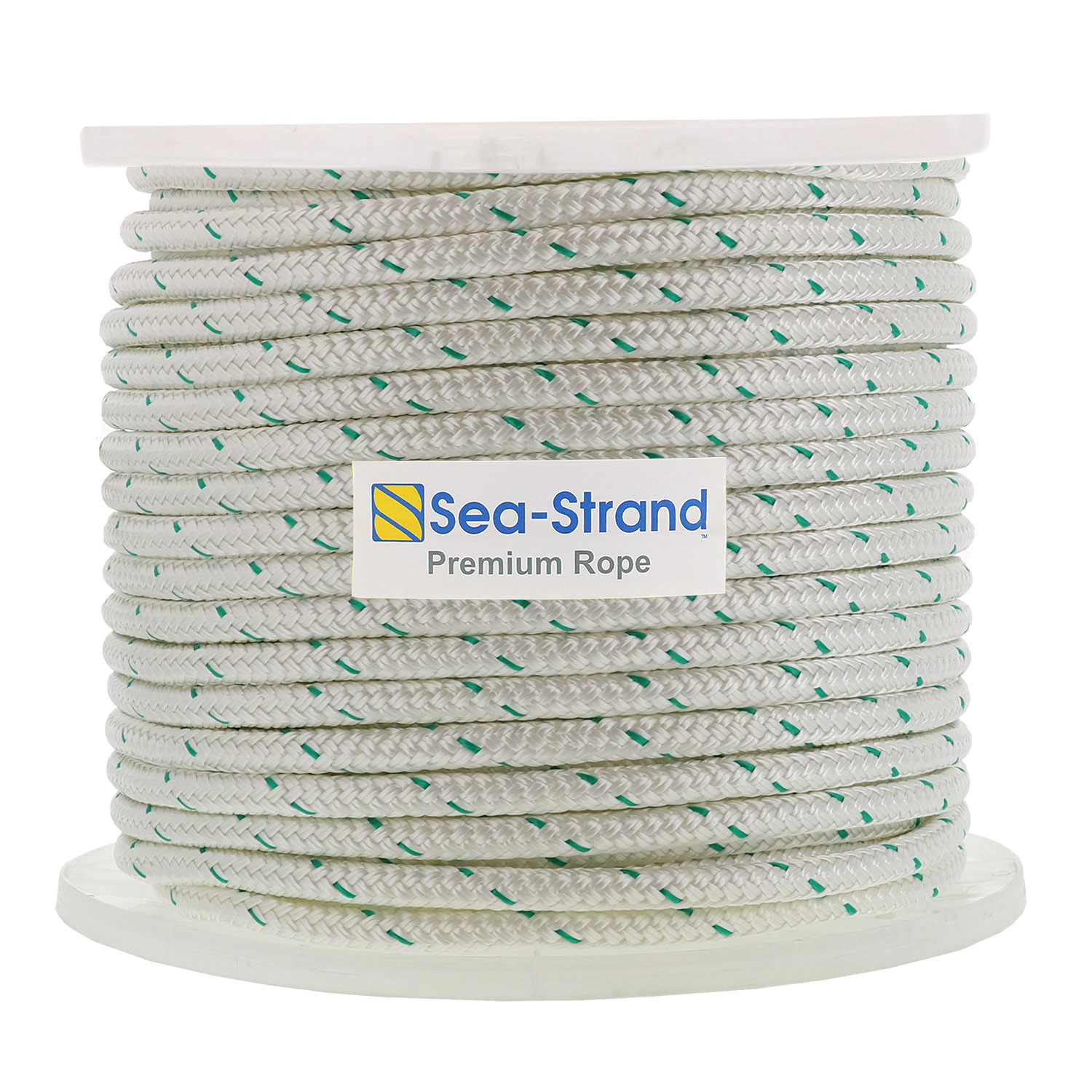 "1/2"" x 600' Reel, Double Braid Polyester Rope Image 1"
