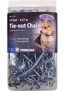 Pet Tie-Out Chains