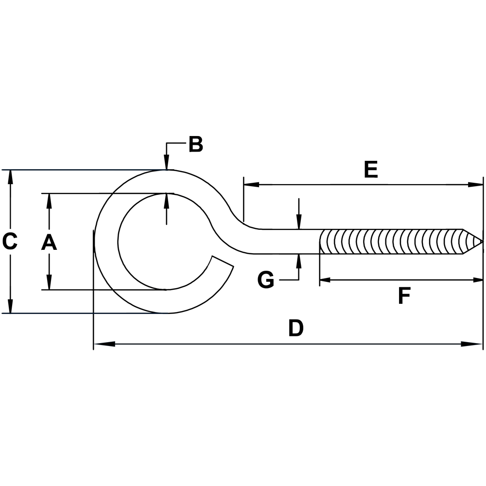 1-X-3-1-2-Zinc-Plated-Screw-Eye-specification-diagram