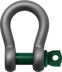 5/16 in., 3/4 ton, Van Beest Green Pin Screw Pin Anchor Shackle
