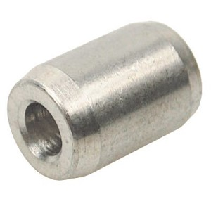 "1/8"" Stainless Steel Button"