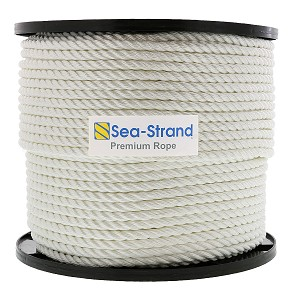 "3/8"" x 600' Reel, 3-Strand Nylon Rope"