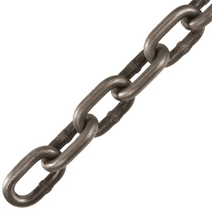 "1/4"" x 141' Grade 30, Self Colored, Proof Coil Chain, Pail"