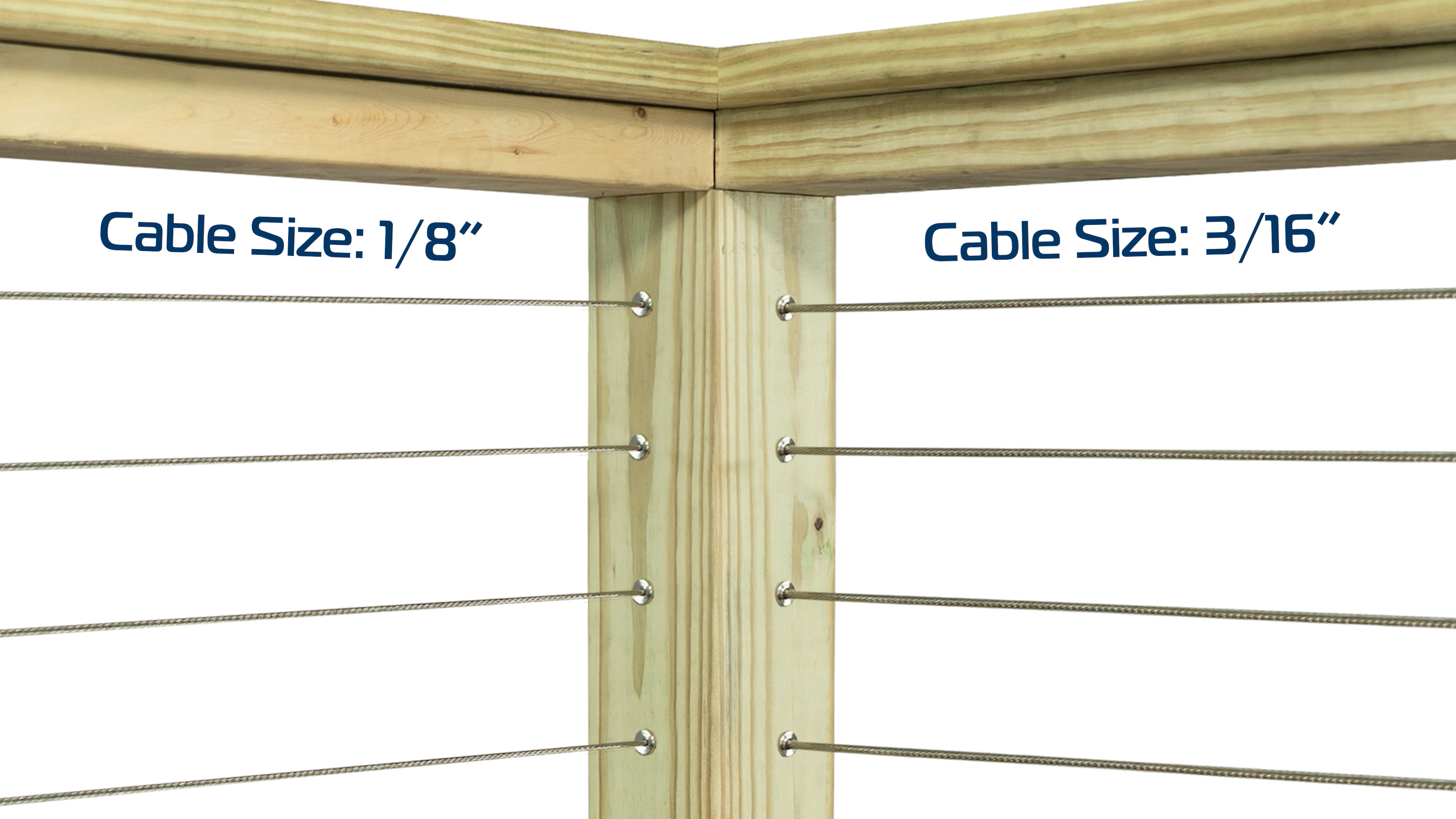 Cable Railing Cable Sizes
