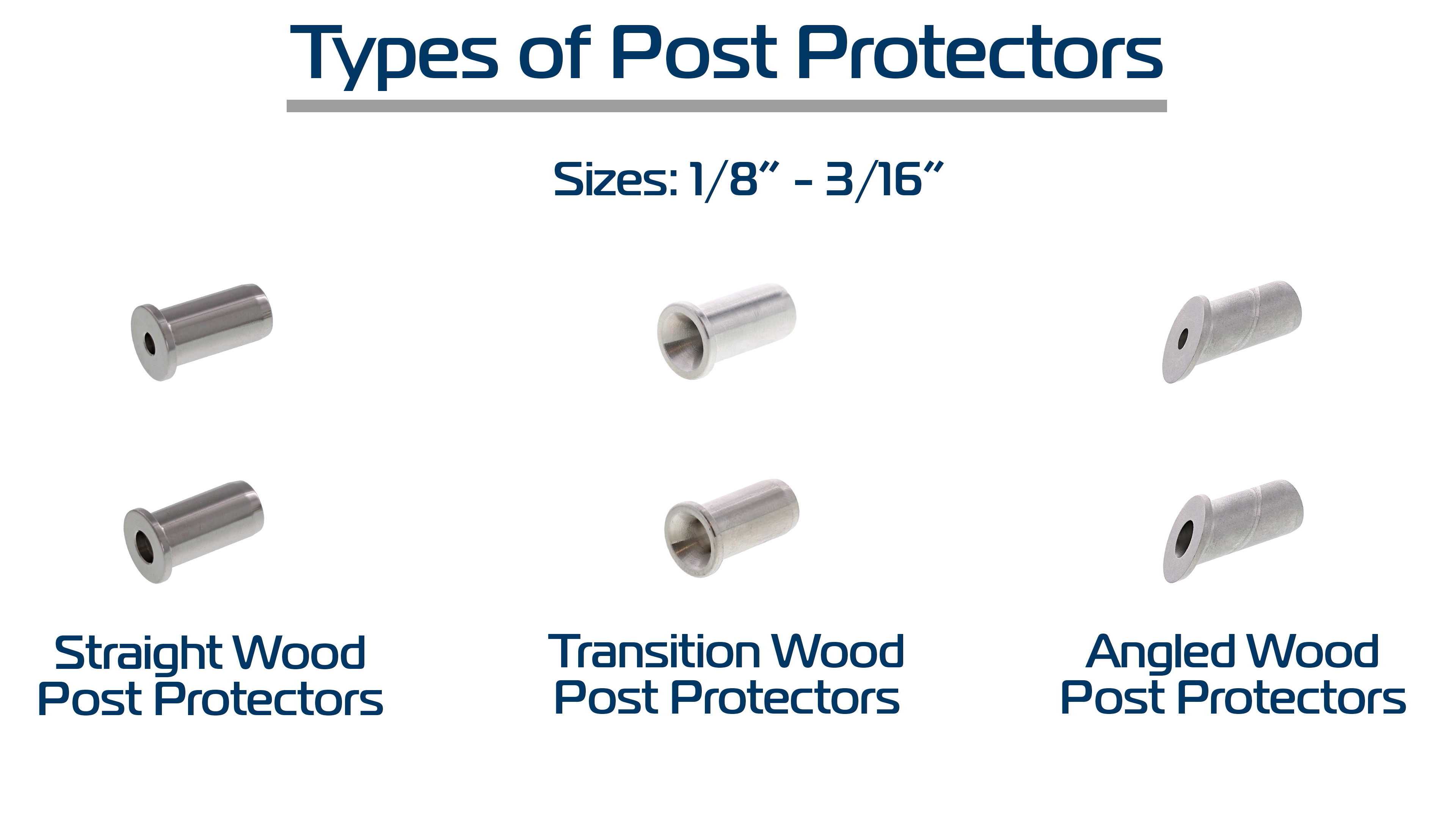 Types of Wood Post Protectors
