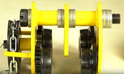 Offset Pin for Geared Beam Trolleys