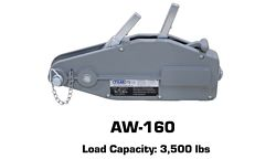 Tyler Tool Manual Cable Winch: AW-160
