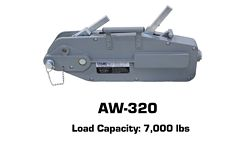 Tyler Tool Manual Cable Winch: AW-320