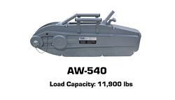Tyler Tool Manual Cable Winch: AW-540