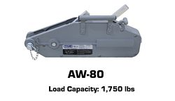Tyler Tool Manual Cable Winch: AW-80