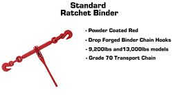 Standard Ratchet Binder