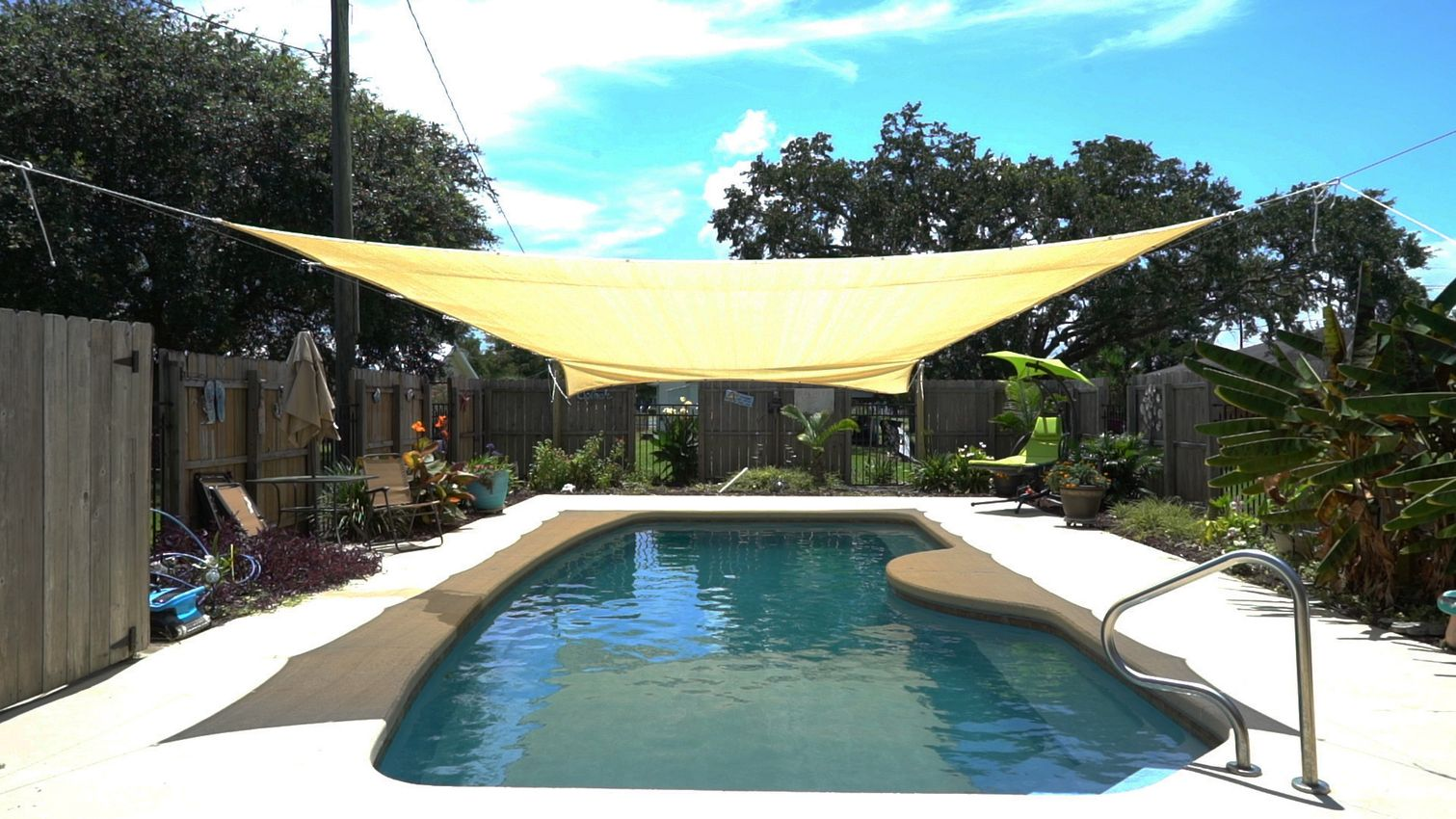 Rig Up Some Shade for Summer