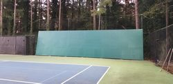Tennis Hitting Wall