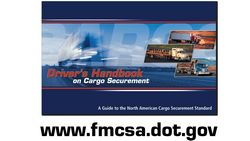Federal Drivers Handbook for Cargo Securement