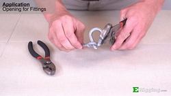 Opening Thimble With Pliers