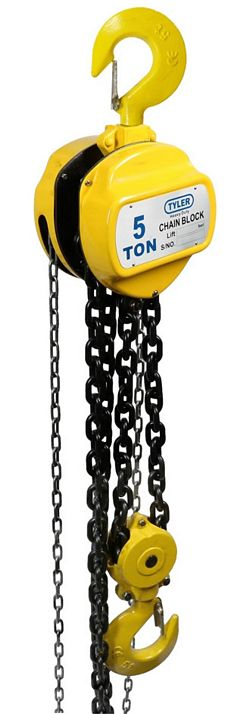 Tyler Tool Chain Hoists: 5 Ton