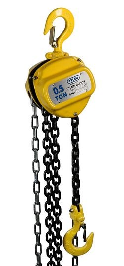 Tyler Tool Chain Hoists: .5 Ton