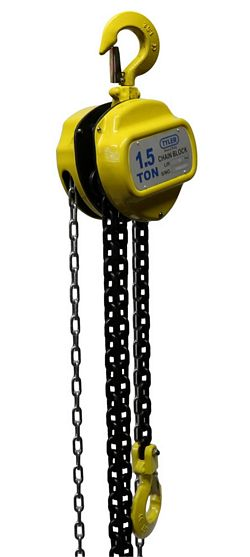 Tyler Tool Chain Hoists: 1.5 Ton