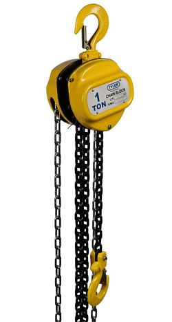 Tyler Tool Chain Hoists: 1 Ton