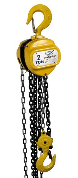Tyler Tool Chain Hoists: 2 Ton