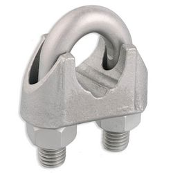 Malleable Zinc Plated Wire Rope Clip