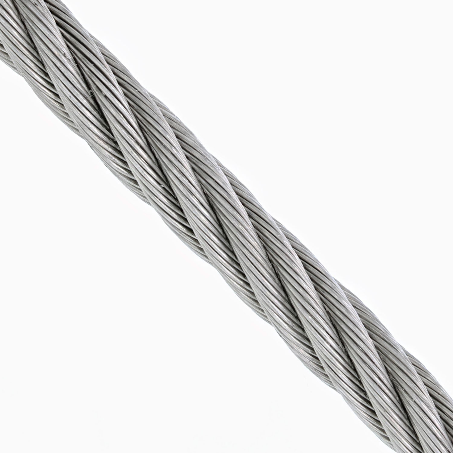 3⁄8 inch, 7 x 19 Grade 304 Stainless Steel Cable