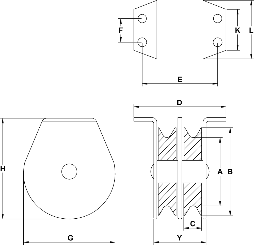 double-sheave-three-sixteenths-inch-hd-flat-mount-block-specification-diagram
