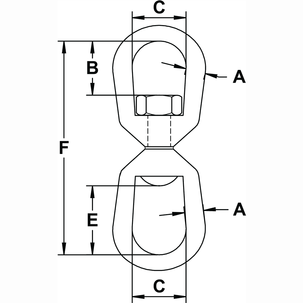 half-inch-Eye-Eye-Swivel-specification-diagram