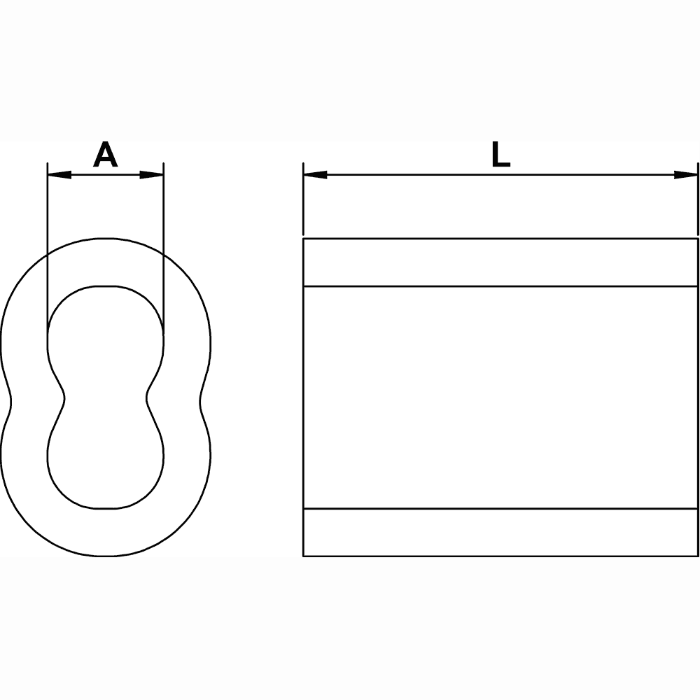 quarter-inch-Copper-Sleeve-specification-diagram