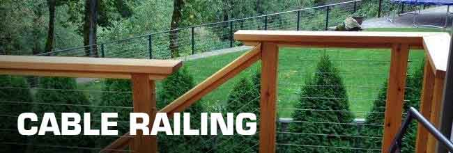 diy cable railing project image