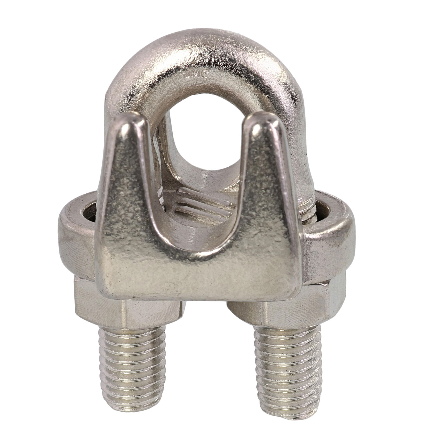 "5/8"" Type 316, Stainless Steel Cast Wire Rope Clip Image 1"