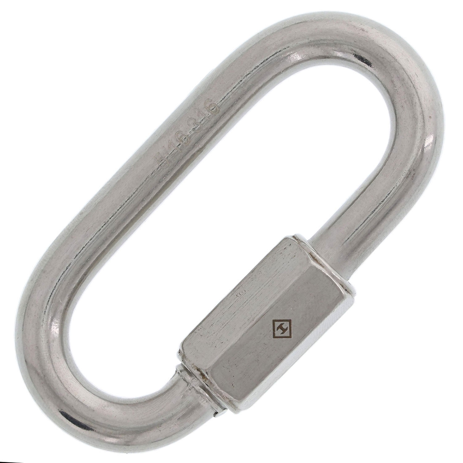 "5/16"" Stainless Steel Quick Link Image 1"