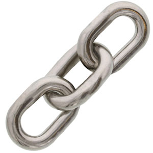 Trident Marine Chains Stainless ISO Anchor Windlass Chain