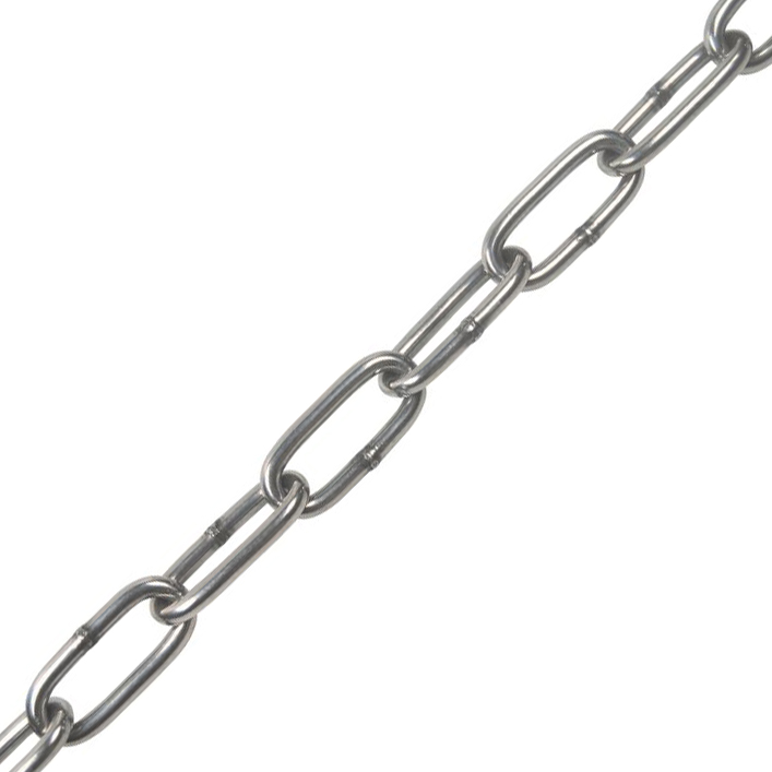 #5, Type 316, Stainless Straight Link Chain (Sold Per Foot) Image 1