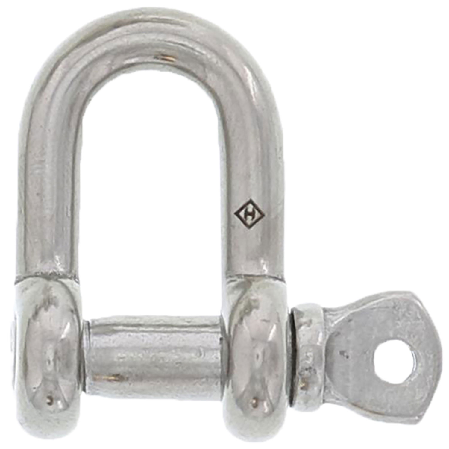 "1/4"" Stainless Steel Screw Pin Chain Shackle Image 1"