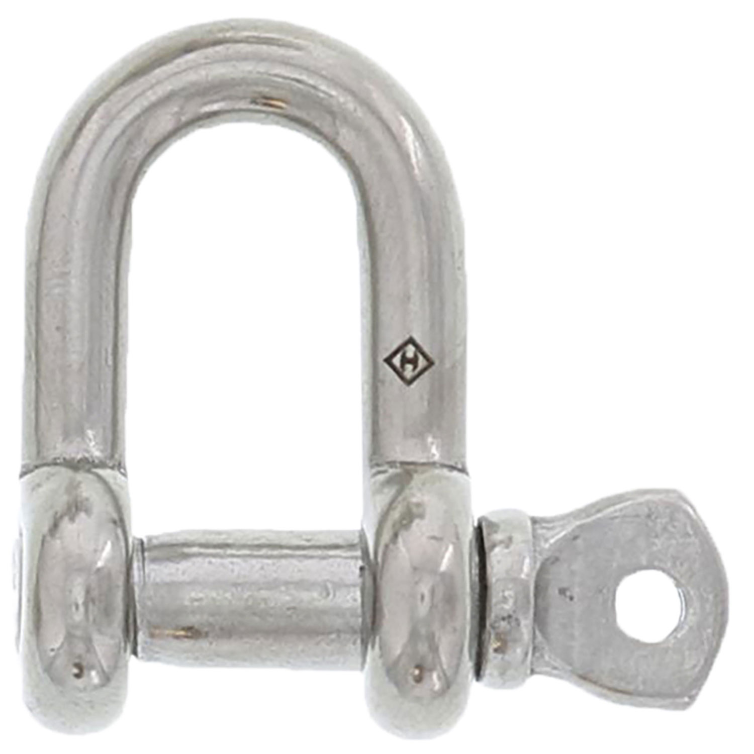 "3/8"" Stainless Steel Screw Pin Chain Shackle Image 1"
