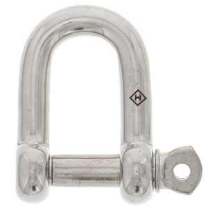 Stainless Screw Pin D Shackles